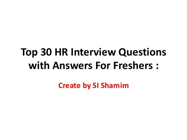 Top 30 interview questions with answers for electrical