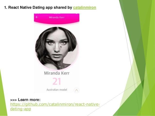github dating app