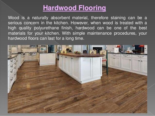 Top 3 durable kitchen floor options