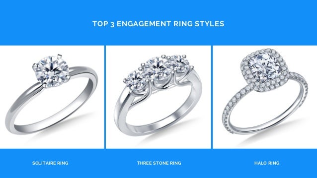 Top 3 Engagement Ring Styles