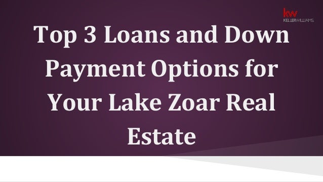 Best payment options loan