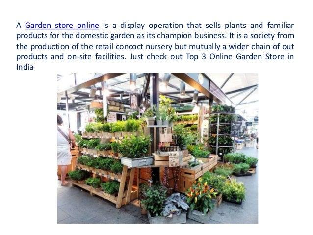 Lovely Top 3 Online Garden Store In India; 2.