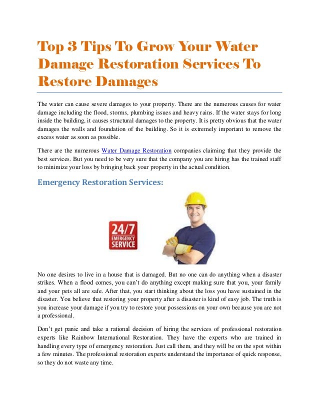 Emergency Water Removal Austin
