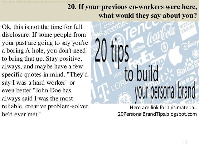 top 40 engineer project manager interview questions and