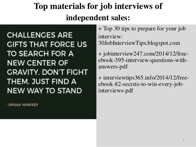 Top 40 independent sales interview questions and answers pdf ebook fr top materials fandeluxe Choice Image