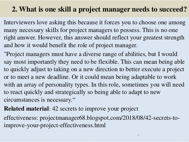 Top 40 wine project manager interview questions and answers pdf ebook…