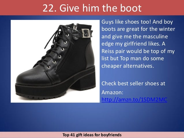 Top 43 gift ideas for boyfriends