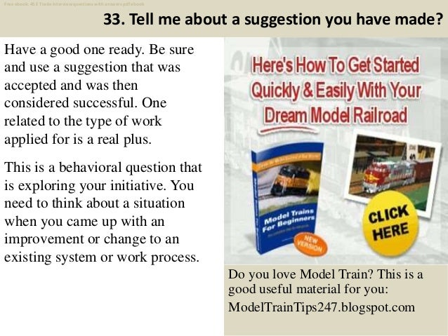 Top 45 e trade interview questions and answers pdf