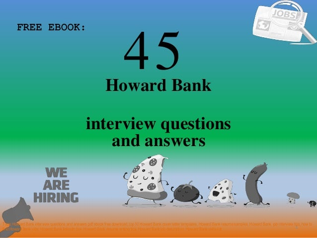Top 45 howard bank interview questions and answers pdf 45 1 howard bank interview questions free ebook tags howard bank interview questions and top materials fandeluxe Choice Image