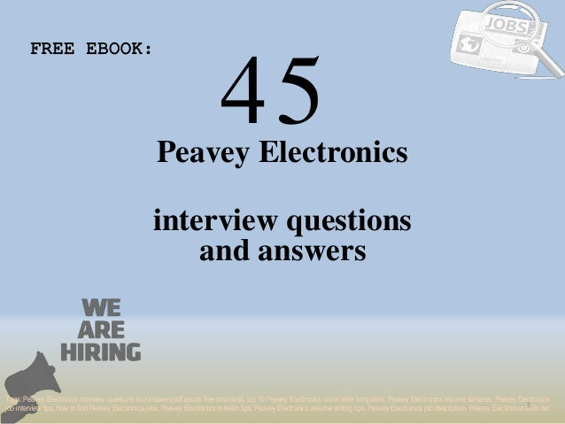 Interview questions pdf basic electronics