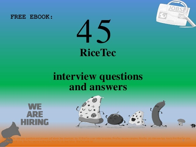 Top 45 rice tec interview questions and answers pdf 45 1 ricetec interview questions free ebook tags ricetec interview questions and answers pdf top materials fandeluxe Images