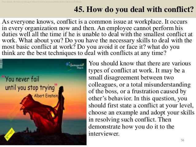 Top 45 training manager internship interview questions and ...