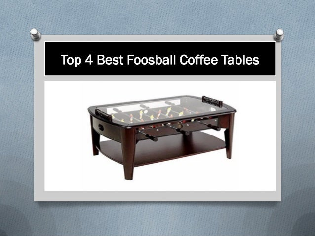 Amazing Top 4 Best Foosball Coffee Tables Gamerscity Chair Design For Home Gamerscityorg