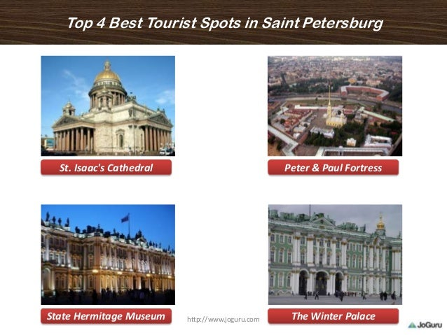 Top 4 Best Tourist Spots in Saint Petersburg St. Isaac's Cathedral Peter & Paul Fortress State Hermitage Museum The Winter...