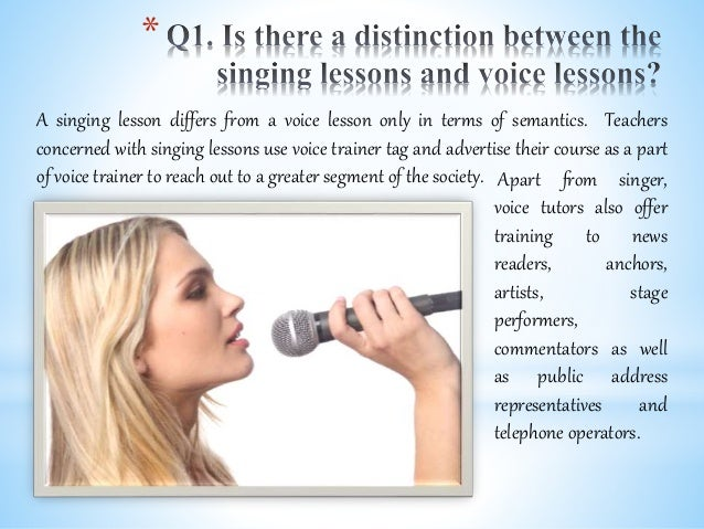 Top 4 frequently asked questions to nashville voice trainers