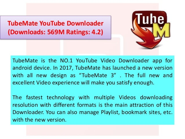 Best Youtube Downloader For Android - 2017 - freewareapk com