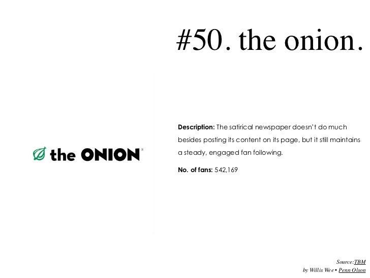 Top 50 Facebook Pages 2009 Slide 2