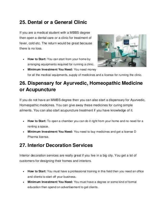 Top 50 home based business ideas with low investment 10 ccuart Image collections