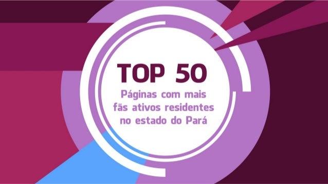 Total de fãs residentes no estado do Pará, maiores de 18 anos e que acessaram o Facebook nos últimos 30 dias. Critério uti...