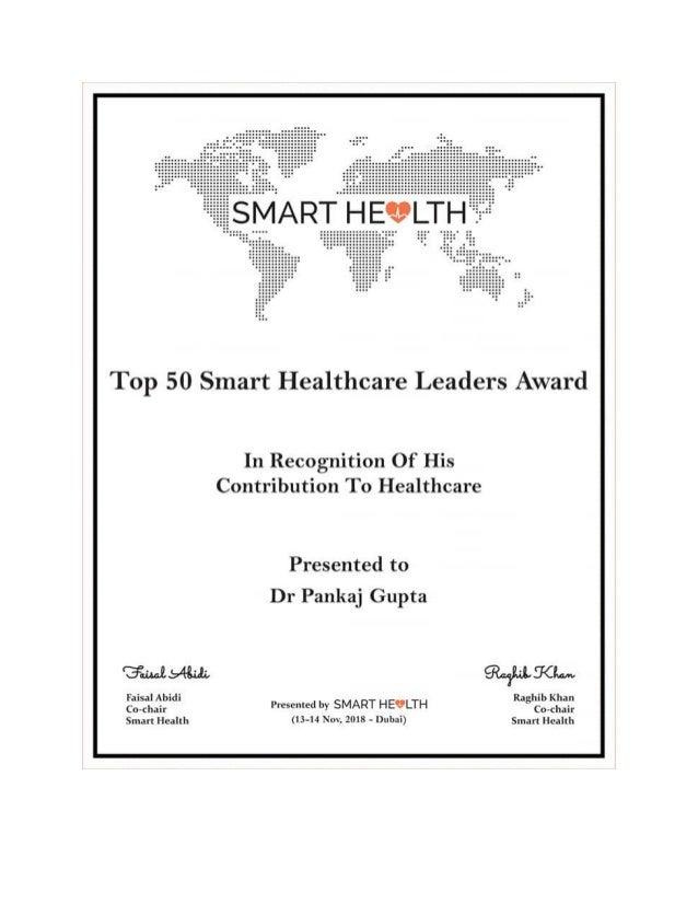 Top 50 smart health award