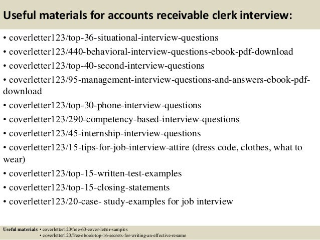 accounts receivable job description pdf