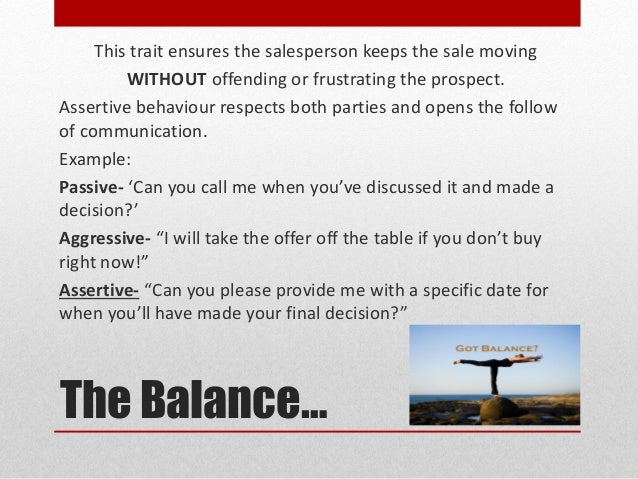 Top 5 Emotional Traits of a Great Salesperson Slide 3