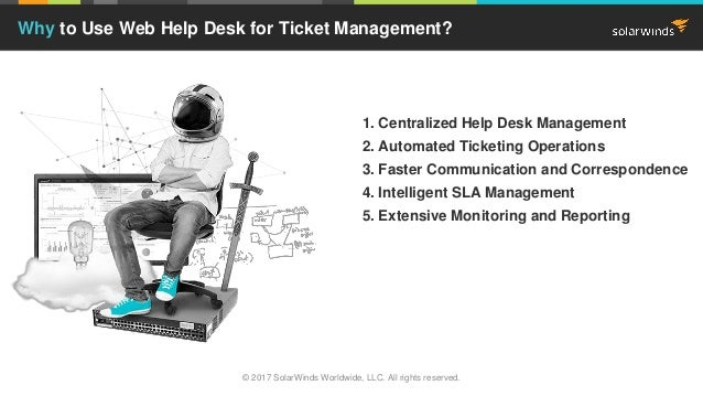 Top 5 Reasons to Use Web Help Desk for Ticketing Management Slide 3