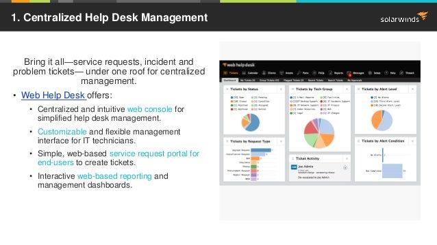 ... Web Help Desk For Ticket Management? 4.