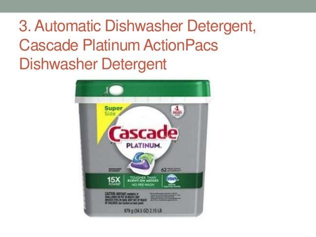 Top 5 Best Automatic Dishwasher Detergent In 2017