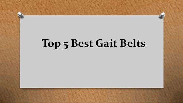Top 5 Best Gait Belts