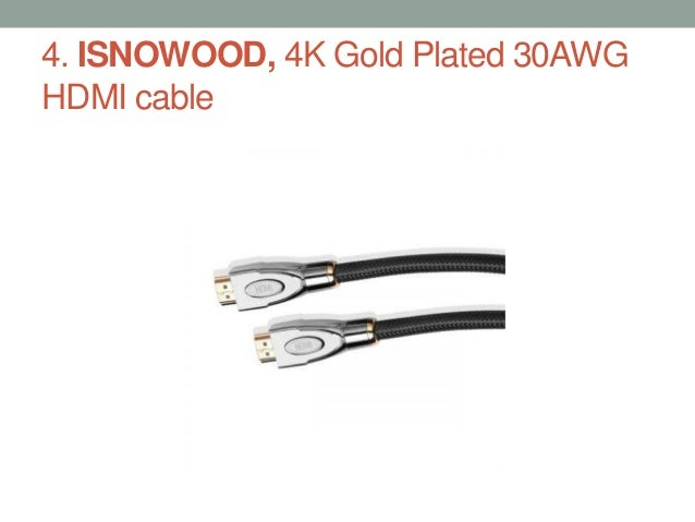Top 5 best hdmi cables in 2017 Slide 3