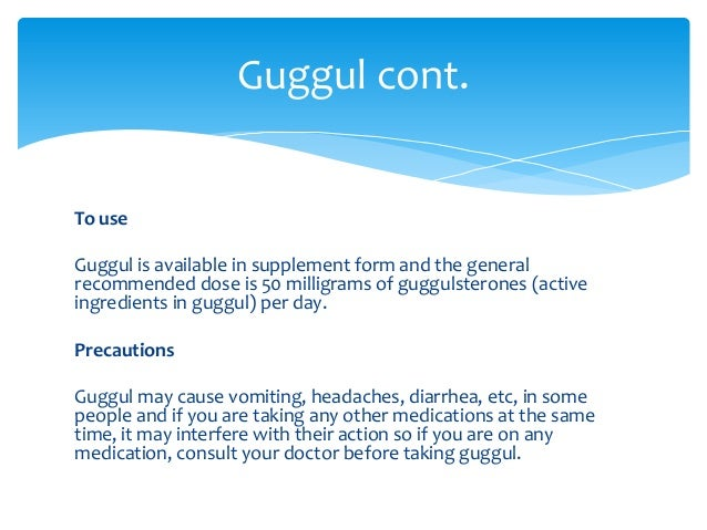 Guggul Gum as well as also Acne – A Herbal Supplement ...