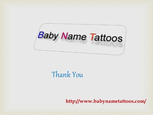 top 5 best designs for baby names