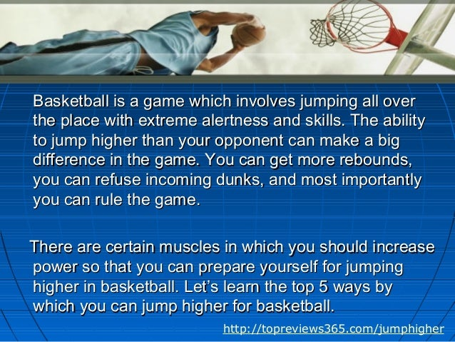 how to jump higher in basketball pdf