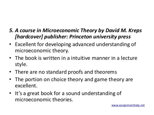 an analysis of the microeconomics theories Economic theories macro and micro economics macro economics may be defined as that branch of economic analysis which studies the behaviour of not one particular unit, but of all the units combined together macroeconomics is a study of aggregates it is the study of the economic system as a whole � total production, total consumption.