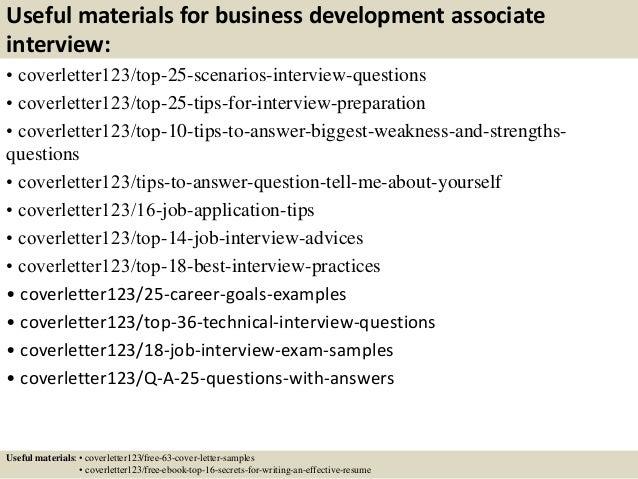 ... 13. Useful Materials For Business Development Associate ...