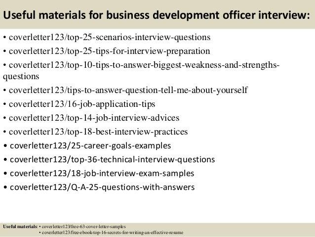 Sample Cover Letter For Business Development Manager. Top 5 Business  Development Officer Cover Letter ...