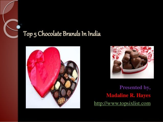Top 5 chocolate brands in India