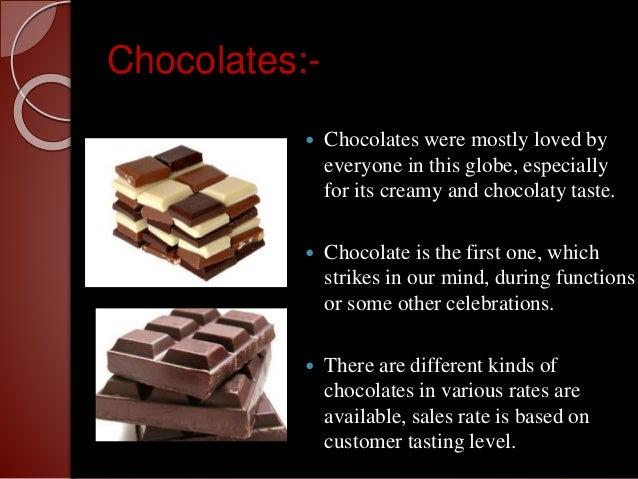 F.E.P.'s Chocolate List