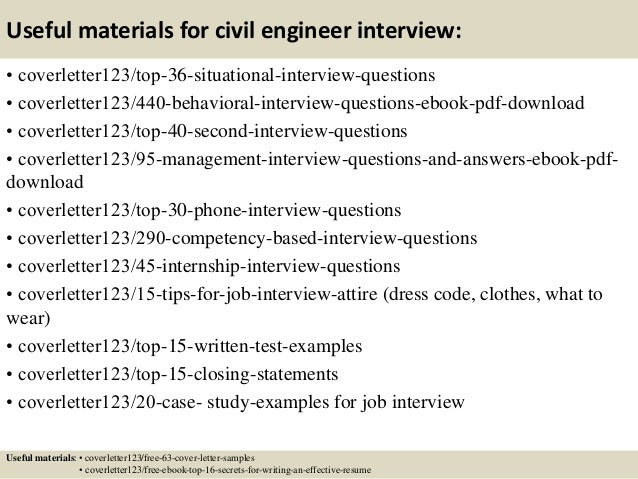 how to write cover letters civil engineering jobs