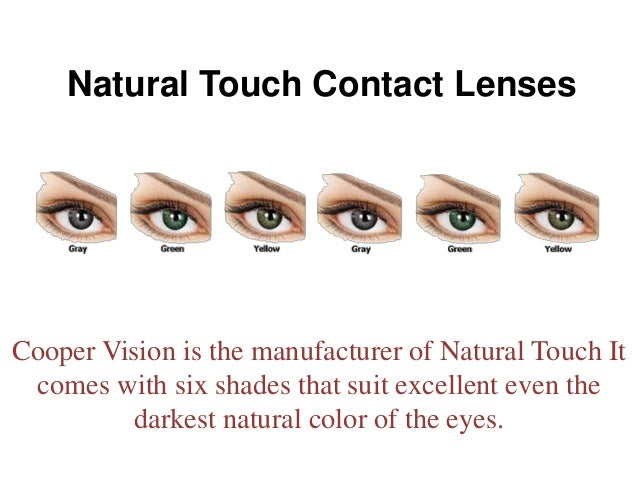 Natural Colored Contacts Uk