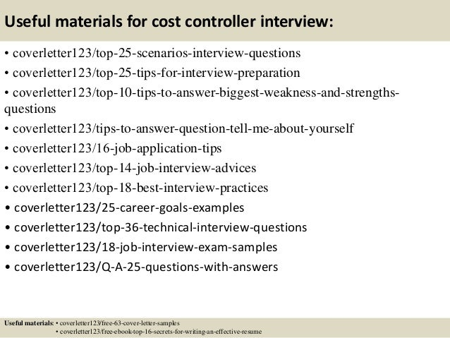 Top  Cost Controller Cover Letter Samples - Cost engineer cover letter