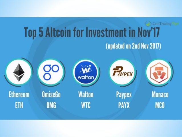 What cryptocurrency to invest in november