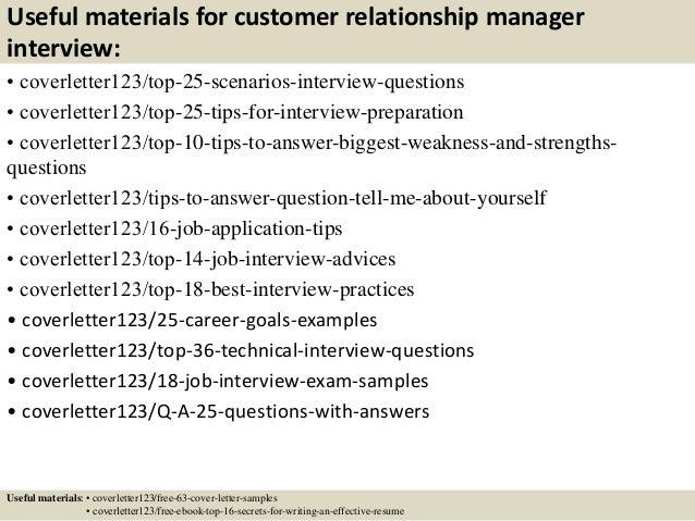 sample relationship manager cover letter
