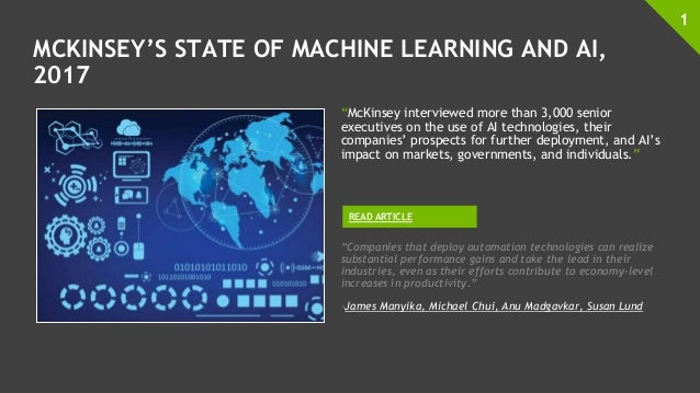 Image Result For Mckinseys State Of Machine Learning And Ai