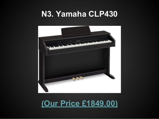 Top 5 digital pianos over 1000 for Yamaha n3 price