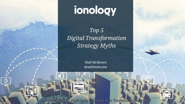 Top 5 Digital Transformation Strategy Myths