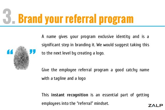 catchy employee referral slogans | just b.CAUSE