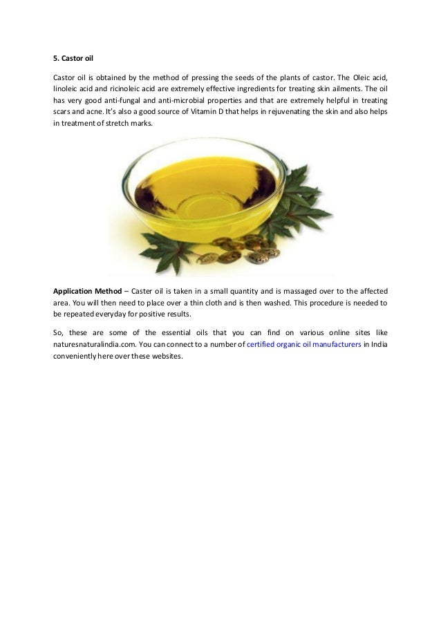 Top 5 essential oils that are helpful in dealing with stretch marks c…