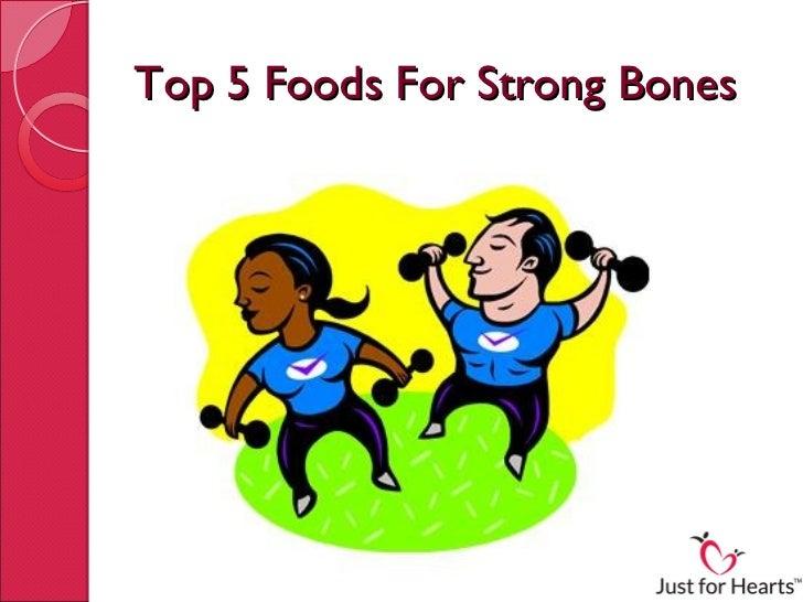 Top 5 Foods For Strong Bones